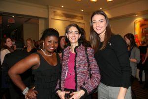 (L to R) Makeda Saggau-Sackey (The Glamazon Diaries), Sherri Dalphonse (senior editor of Washingtonian) and former Miss DC Kate Michael (K Street Kate)