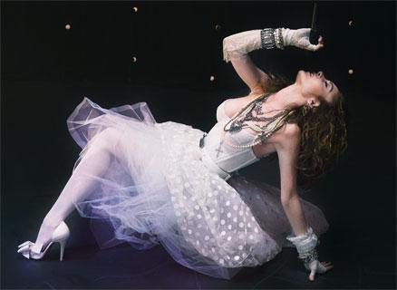 Lindsay Lohan as Madonna