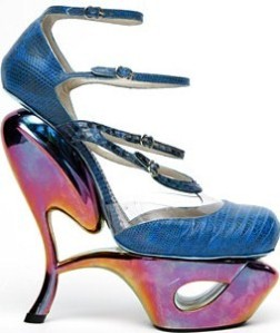 John Galiano Blue Iguana Pump