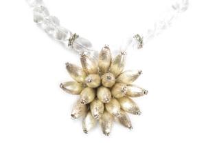 Sterling Cactus Bloom Pendant