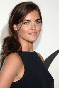 Model Hilary Rhoda attends the 2008 CFDA Fashion Awards at The N